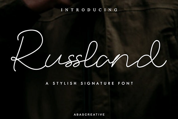 Russland Font By Abascreative Image 1