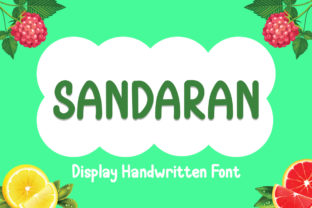 Sandaran Font By Boombage