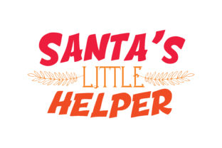 Download Free Santa S Little Helper Quote Svg Cut Graphic By Thelucky SVG Cut Files