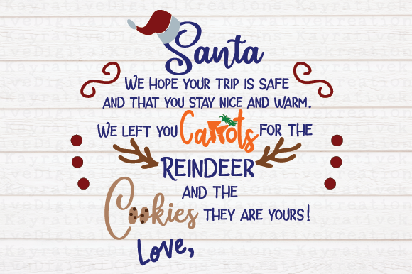 Download Free Santa Cookie Plate Reindeer Plate Svg Christmas Svg Graphic SVG Cut Files