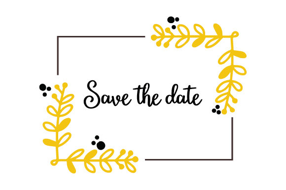 Download Free Save The Date Svg Cut File By Creative Fabrica Crafts Creative for Cricut Explore, Silhouette and other cutting machines.