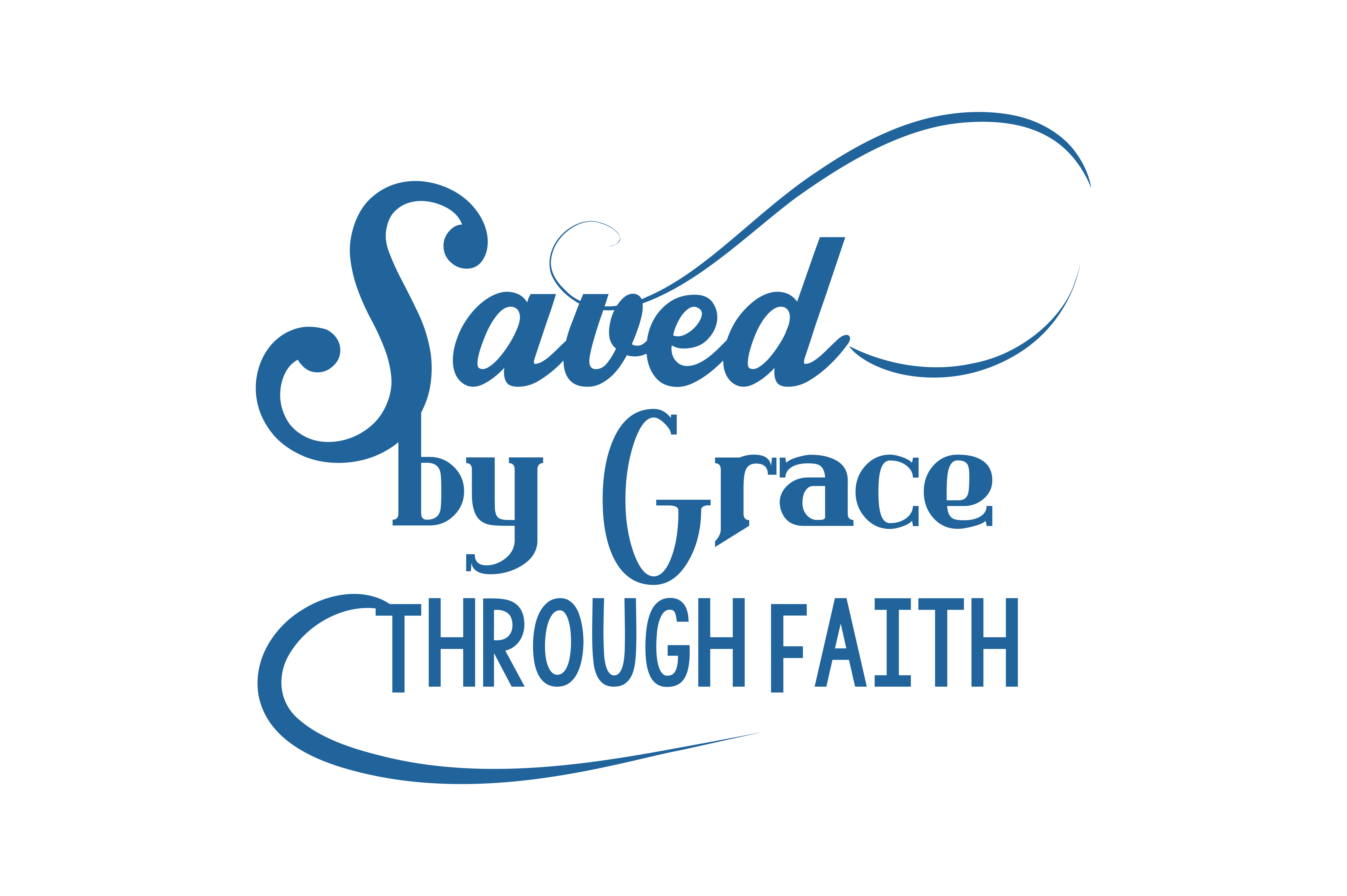 Download Free Saved By Grace Through Faith Quote Svg Cut Graphic By Thelucky SVG Cut Files