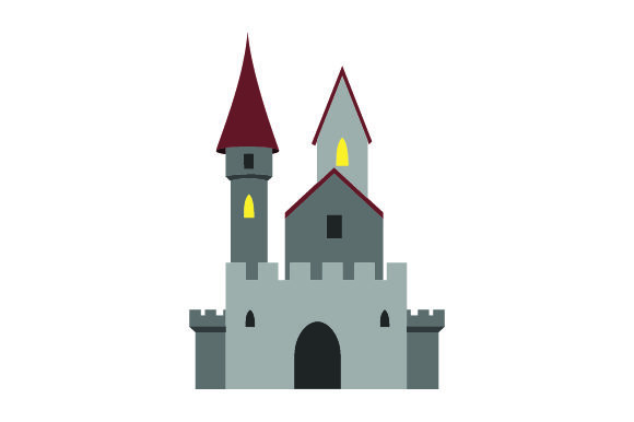 Download Free Scottish Castle Realistic Svg Cut File By Creative Fabrica for Cricut Explore, Silhouette and other cutting machines.