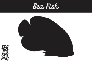 Download Free Sea Fish Silhouette Svg Vector Image Graphic By Arief Sapta for Cricut Explore, Silhouette and other cutting machines.
