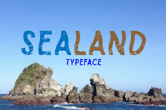 Print on Demand: Sealand Color Fonts Font By da_only_aan - Image 2