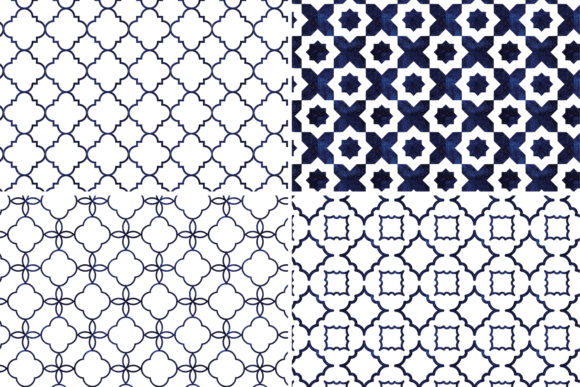 Seamless Moroccan Patterns Graphic By Eyestigmatic Design