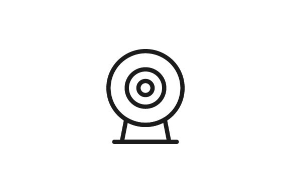 Download Free Security Camera Icon Grafico Por Kanggraphic Creative Fabrica for Cricut Explore, Silhouette and other cutting machines.