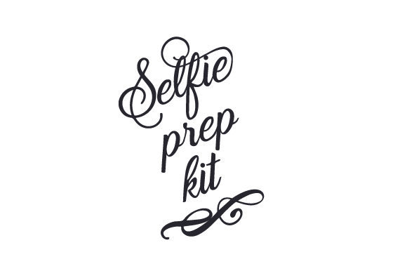 Download Free Selfie Prep Kit Svg Cut File By Creative Fabrica Crafts for Cricut Explore, Silhouette and other cutting machines.
