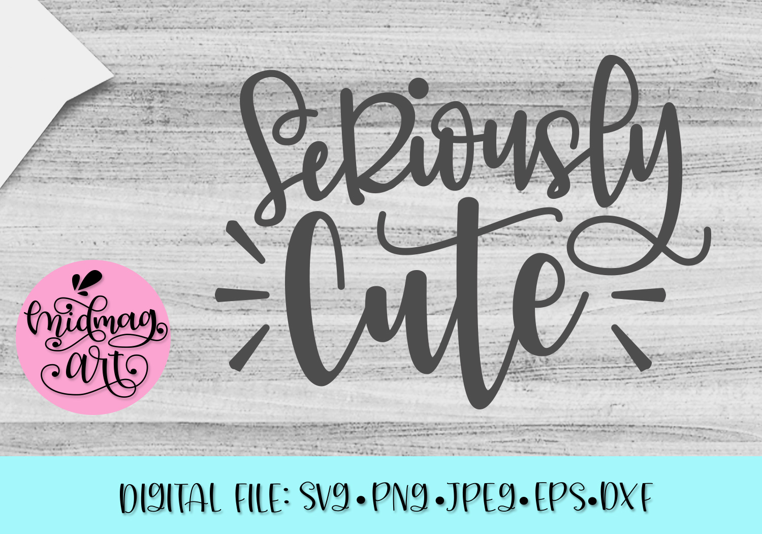 Download Free Seriously Cute Svg Graphic By Midmagart Creative Fabrica for Cricut Explore, Silhouette and other cutting machines.