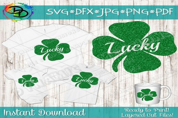 Print on Demand: Shamrock SVG Graphic Crafts By dynamicdimensions