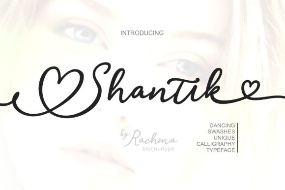 Print on Demand: Shantik Script & Handwritten Font By BonjourType