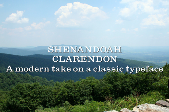 Print on Demand: Shenandoah Clarendon Slab Serif Font By Megami Studios