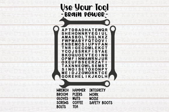 Shop Word Search Graphic By Kayla Griffin