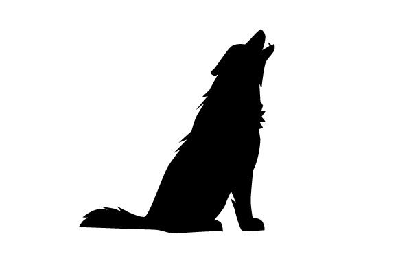 Download Free Silhouette Wolf Svg Cut File By Creative Fabrica Crafts for Cricut Explore, Silhouette and other cutting machines.
