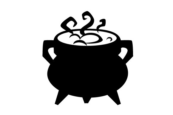 Download Free Silhouette Cauldron Svg Cut File By Creative Fabrica Crafts for Cricut Explore, Silhouette and other cutting machines.