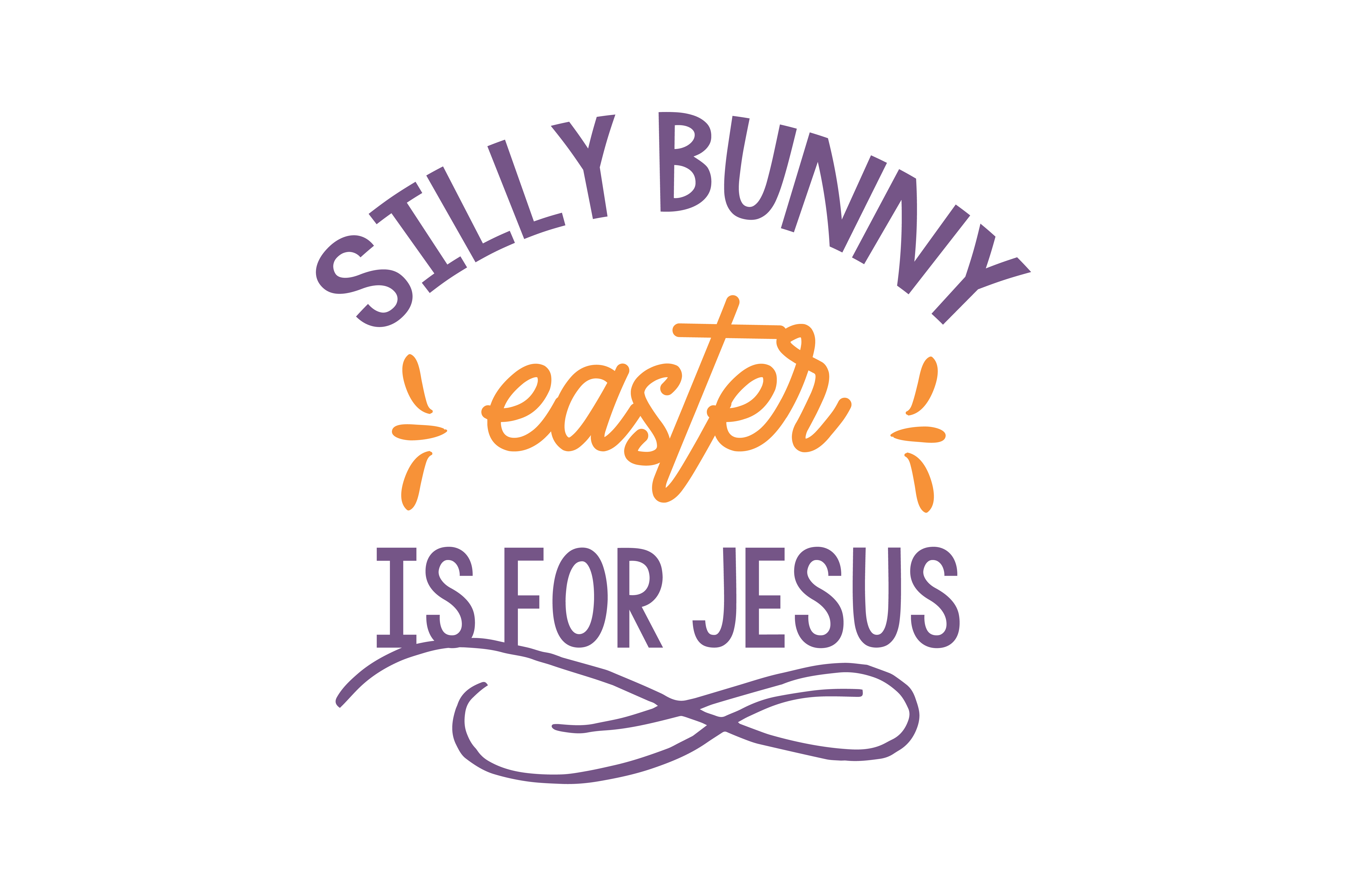 Download Free Silly Bunny Easter Is For Jesus Quote Svg Cut Graphic By for Cricut Explore, Silhouette and other cutting machines.