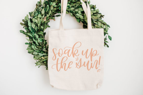 Soak Up the Sun, Hand Lettered Summer Graphic Crafts By jordynalisondesigns - Image 2