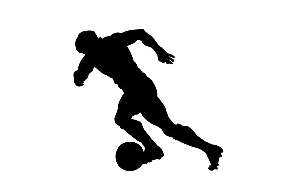 Download Free Soccer Player Svg Cut File By Creative Fabrica Crafts Creative SVG Cut Files