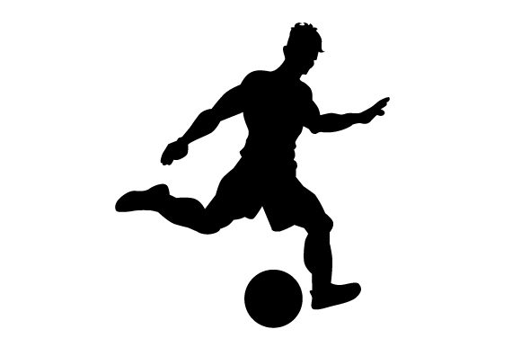 Download Free Soccer Player Svg Plotterdatei Von Creative Fabrica Crafts for Cricut Explore, Silhouette and other cutting machines.