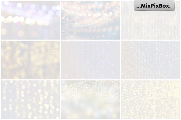 Print on Demand: Soft Lights Backgrounds Graphic Textures By MixPixBox - Image 2
