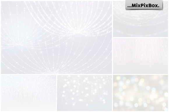 Print on Demand: Soft Lights Backgrounds Graphic Textures By MixPixBox - Image 5
