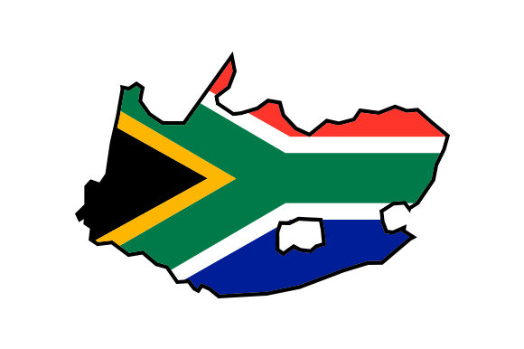 Download Free South Africa Country Outline With Flag Svg Cut File By Creative for Cricut Explore, Silhouette and other cutting machines.