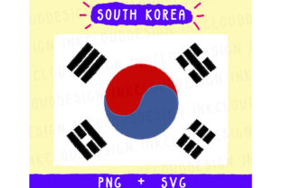 South Korea SVG Graphic By Inkclouddesign