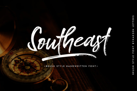 Print on Demand: Southeast Script & Handwritten Font By Haksen