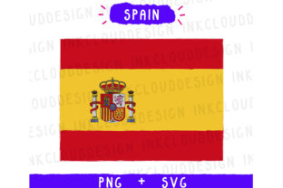 Spain Europe SVG Graphic By Inkclouddesign
