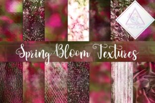 Spring Bloom Textures Graphic By fantasycliparts