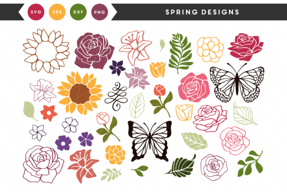 Spring Designs Graphic By Lettered by Emylia