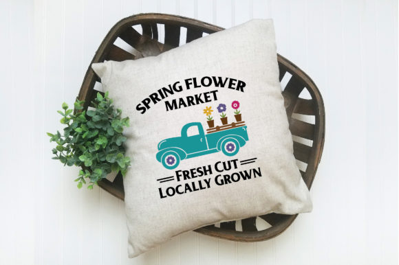Download Free Spring Flower Market Svg Cut File Spring Svg Graphic By for Cricut Explore, Silhouette and other cutting machines.