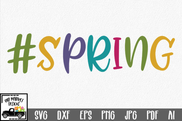 #Spring SVG Cut File Graphic Crafts By oldmarketdesigns - Image 1