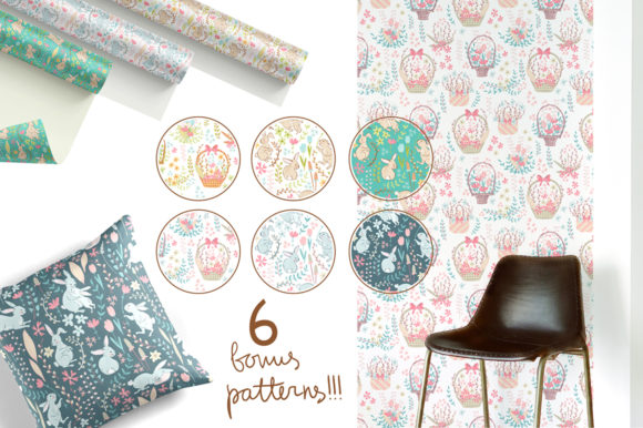 Spring Meadow Graphic Set Graphic By dinkoobraz Image 14