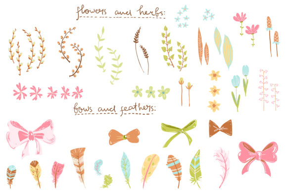 Spring Meadow Graphic Set Graphic By dinkoobraz Image 18