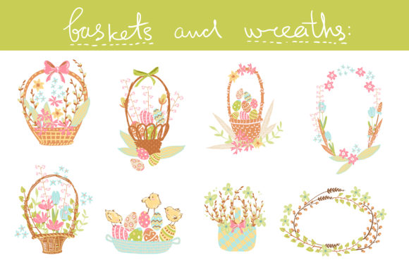 Spring Meadow Graphic Set Graphic By dinkoobraz Image 19