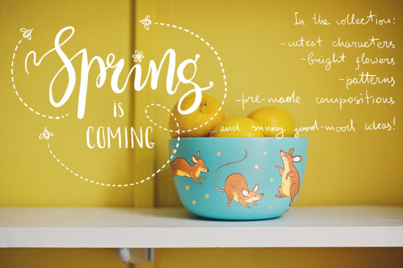 Spring Meadow Graphic Set Graphic By dinkoobraz Image 3