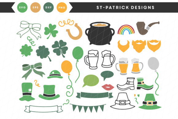 St-Patrick Designs Graphic By Lettered by Emylia