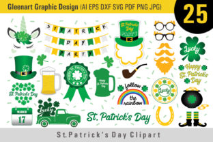 St Patrick's Day Clipart Bundle Graphic By Gleenart Graphic Design