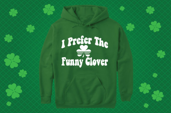 Download Free St Patrick S Day Funny Clover Graphic By Svg Cuts Creative Fabrica SVG Cut Files
