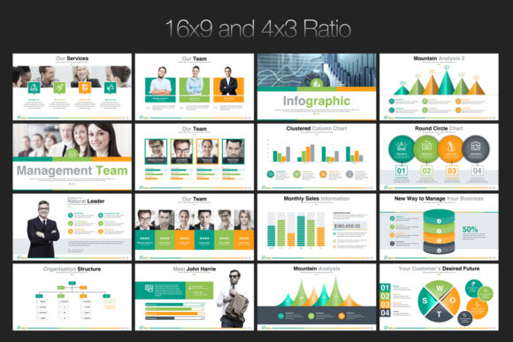 Print on Demand: Startup Business PowerPoint Template Graphic Presentation Templates By ContestDesign - Image 3