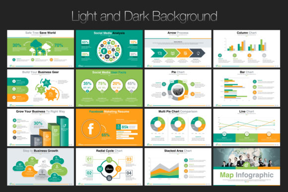 Print on Demand: Startup Business PowerPoint Template Graphic Presentation Templates By ContestDesign - Image 4