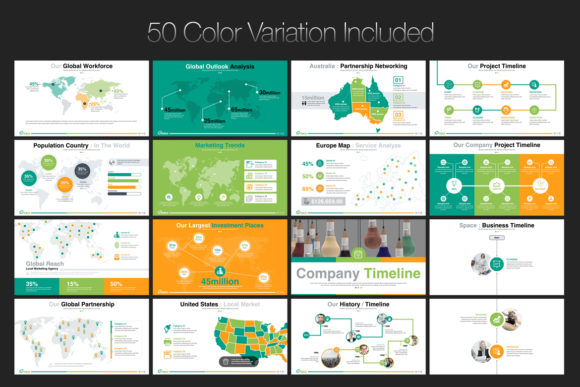 Print on Demand: Startup Business PowerPoint Template Graphic Presentation Templates By ContestDesign - Image 5