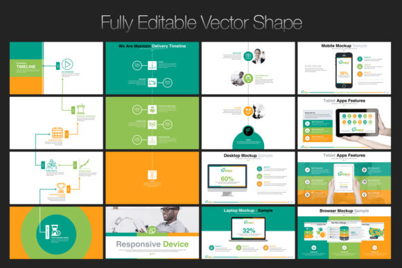 Print on Demand: Startup Business PowerPoint Template Graphic Presentation Templates By ContestDesign - Image 6