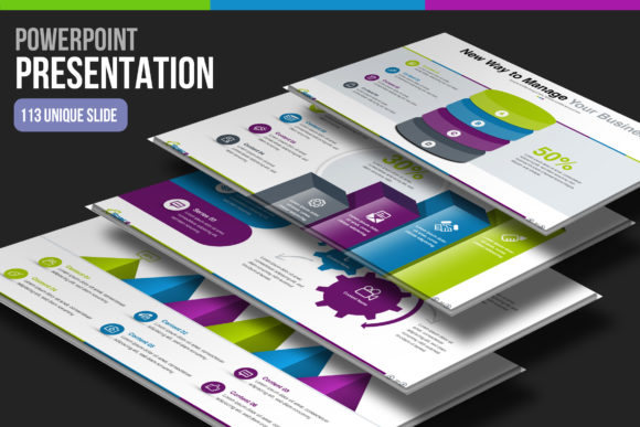 Print on Demand: Startup Business PowerPoint Template Graphic Presentation Templates By ContestDesign