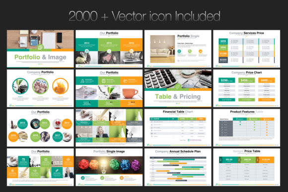 Print on Demand: Startup Business PowerPoint Template Graphic Presentation Templates By ContestDesign - Image 7