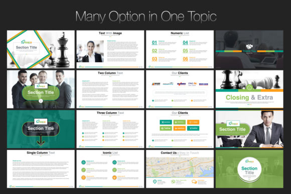 Print on Demand: Startup Business PowerPoint Template Graphic Presentation Templates By ContestDesign - Image 8