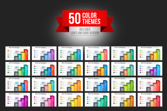 Print on Demand: Startup Business PowerPoint Template Graphic Presentation Templates By ContestDesign - Image 10