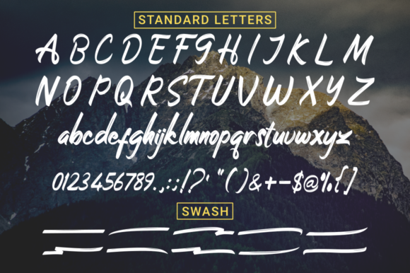 Print on Demand: Stonehole Script & Handwritten Font By kammaqsum - Image 9