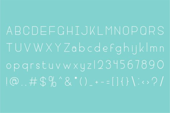 Print on Demand: Strip Deco Display Font By putracetol - Image 7